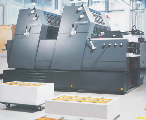 4-color process printer