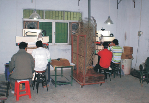 Automatic Silk Screening Department
