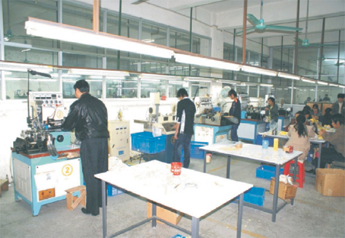 Product Finishing Department